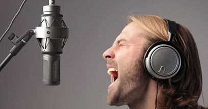 запись профессионального вокалиста