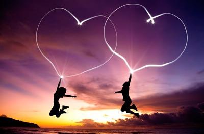 годовщина пара сердца
